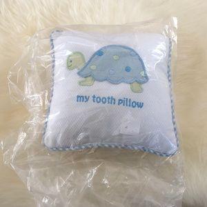 3 Martha's appliqué  turtle tooth pillow NWT